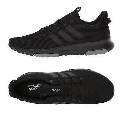Adidas Men Athletic Shoes Cf Racer Tr Running Shoes Black