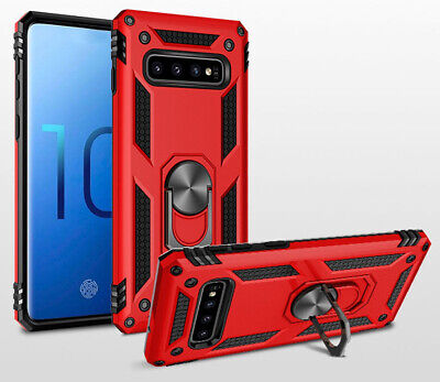 NEW Armor Shockproof Magnetic Ring Stand Case Cover For Samsung S10 Plus Note 10