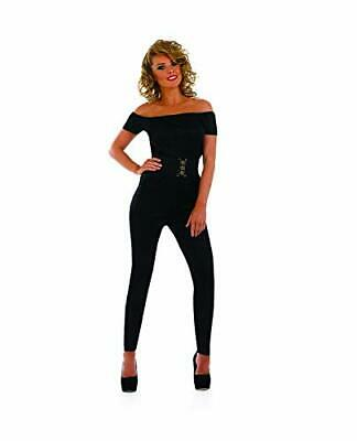 Fun Shack FN3624S Costume, Womens 70s Movie Sweetheart Catsuit, Small