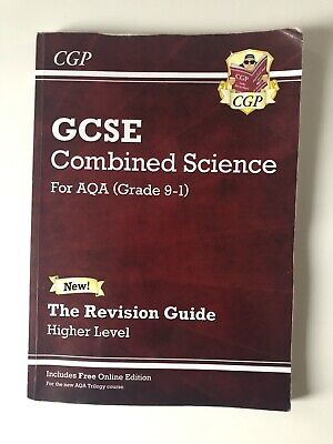 GCSE Combined Science For AQA (Grade 9-1) Revision Guide Higher Level