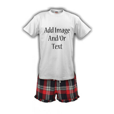 Womens Personalised Tartan Pyjamas | Matching Pjs | Christmas Eve | Magical | PJ