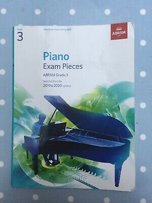 ABRSM Piano Exam Pieces 2019 2020 Syllabus Grade 3 Sheet Music Book Tests Songs