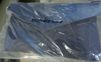BUSINESS CLASS AIR FRANCE Amenity Bag Toiletry Travel Pouch Wallet Style, SEALED