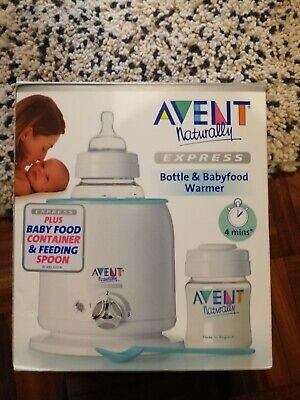 Avent Naturally Express Bottle And Baby Food Warmer