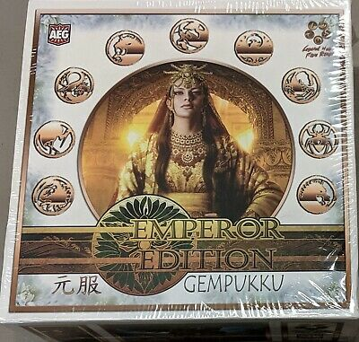 Legend of the Five Rings Emperor Edition Gempukku Deck complete box of 9 L5R AEG