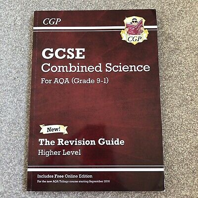 GCSE Combined Science Revision Quide Foundation Level AQA(9-1)