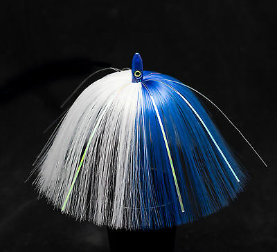 5 SEA WITCH STYLE CHROME FLASH BULLET HEAD TROLLING SALTWATER BIG GAME LURES