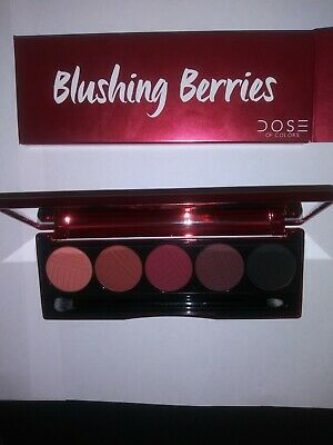 Dose Of Colors Blushing Berries Eyeshadow Palette New In Box