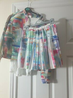 Girls Mayoral Outfit Age 7 , Skirt, top and jacket  (140cm)
