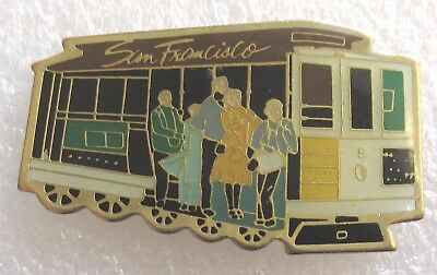 City of San Francisco, California Travel Souvenir Collector Pin-Cable Car