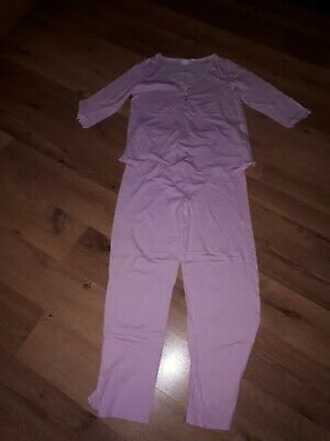Ladies Blooming Marvellous Pink Maternity Pyjamas Size M - Good Condition