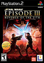 Star Wars: Episode III: Revenge of the Sith Sony PlayStation 2 2005 Pre Owned