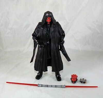 "Star Wars Black Series 6"" Inch Darth Maul Loose Figure COMPLETE MINT"