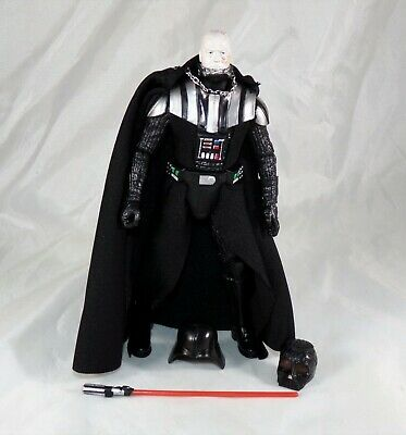 "Star Wars Black Series 6"" Inch #02 Darth Vader Loose Figure COMPLETE MINT"