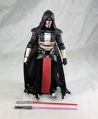 "Star Wars Black Series 6"" Inch Darth Revan Loose Figure COMPLETE MINT"