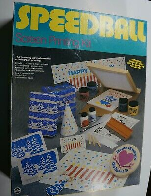Speedball Screen Printing  Kit - Items unopened - 4 Complete projects