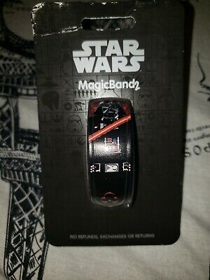 Disney Parks Star Wars Darth Vader Magic Band New In Hand