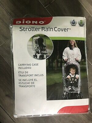 Diono Stroller Rain Cover With Carrying Case
