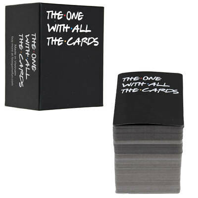 The One With All The Cards Game For Friend TV Fan - Funny Game