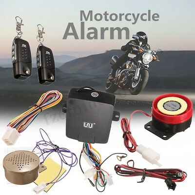 Motorcycle Pager / Monitor Alarm Security System Immobilizer Anti Theft  New