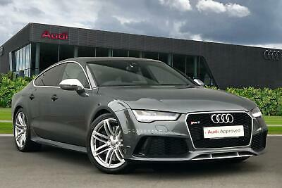 2016 Audi A7 RS 7   4.0 TFSI quattro 560 PS tiptronic 8-speed Petrol grey Automa