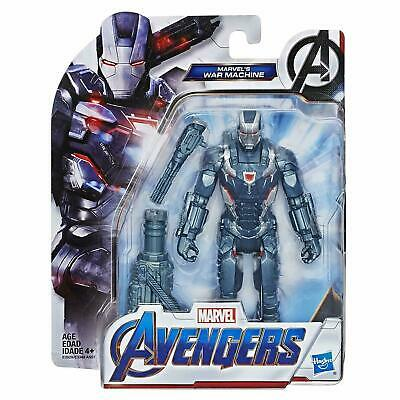 """Marvel Avengers Endgame Team Suit War Machine 6""""-Scale Figure COLLECTOR NEW"""