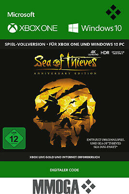 Sea of Thieves: Anniversary Edition - Xbox One - Windows 10 PC - Download Code