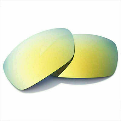 Replacement Lenses for-Oakley Hijinx Sunglasses Polarized Golden Scratch Proof