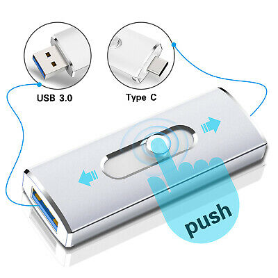 USB 3.0 32G 64G Type C Flash Drives OTG Memory Stick Thumb For Android phone PC