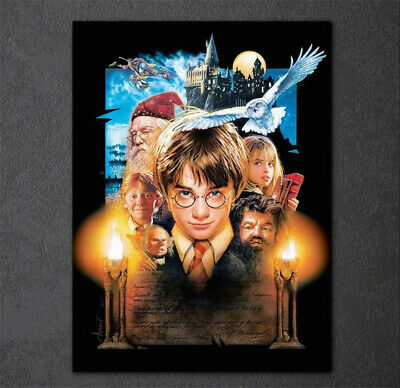 UK Home Harry Potter Full Drill 5D Diamond Painting DIY Embroidery Cross Stitch