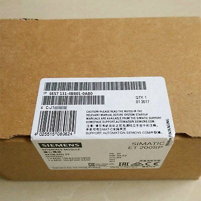 New In Box Siemens 6ES71314BB010AB0 6ES7131-4BB01-0AB0 Digital Input Module