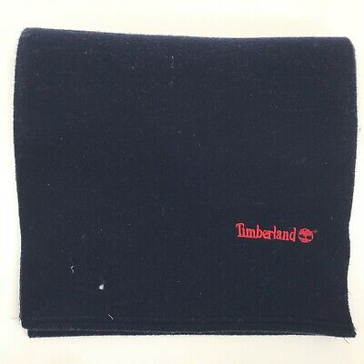 TIMBERLAND WEATHER GEAR Dark Navy Blue Scarf Men's Winter Casual TH291096