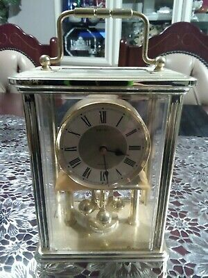 Carriage clock seiko battery operated