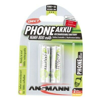 Blisterware 9019706790 RECHARGEABLE ACCU Akku 2er Pack NiMh