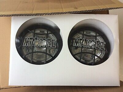 Wipac maxtel Driving Spot Lamps stainless Steel 6 Inch Pair.