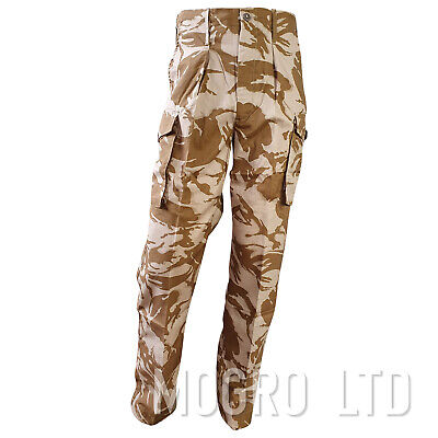 Genuine British Army Combat Trousers Pants Tropical Desert DPM Camo