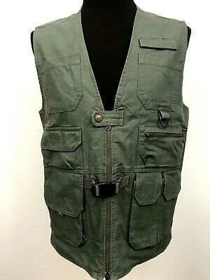 511 Tactical Vest Concealed Carry 80001 Law Enforcement Green Medium Worn Once