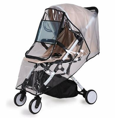 Bemece Universal Rain Cover for Pushchair Stroller Buggy Pram, Baby Travel Weath