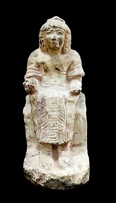 Huge Ancient Egyptian Isis Figurine Sculpture Egypt carved stone Goddess Statue
