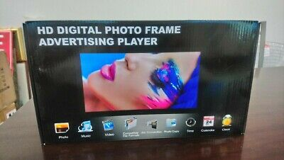 10 Inch Digital Video/Photo Frame, HD. New