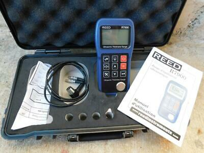 Reed Instruments R7900 Ultrasonic Thickness Gage Gauge Meter