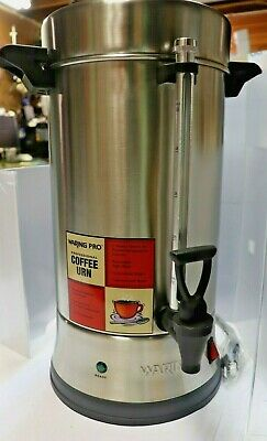 Waring CU 55 Stainless Steel Coffee Urn   Serviced Unit