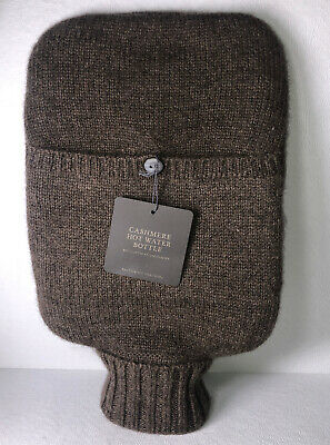 Restoration Hardware Cashmere Covered Hot Water Bottle, NWT Bouillotte