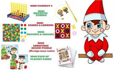 Activities Games Props Ideas for on the shelf Christmas Bundle Xmas Elf