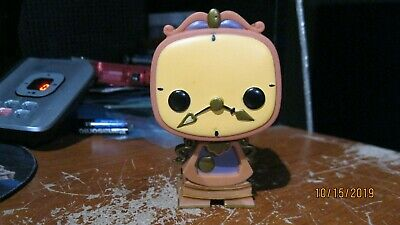 Funko POP Disney Beauty and The Beast Cogsworth #91 Loose