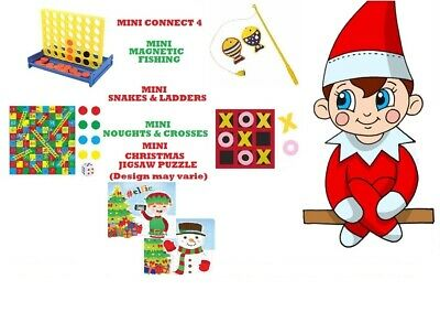 5 x Elf Activities Games Props Ideas on the shelf for the Naughty Christmas Elf