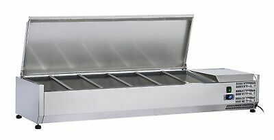 Anvil Aire 1200 Stainless Steel Lid Refrigerated Ingredient Well