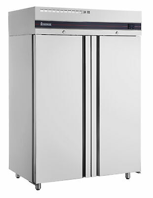 Inomak Double Door Slimline Fridge 1227Lt Solid Door Fridges
