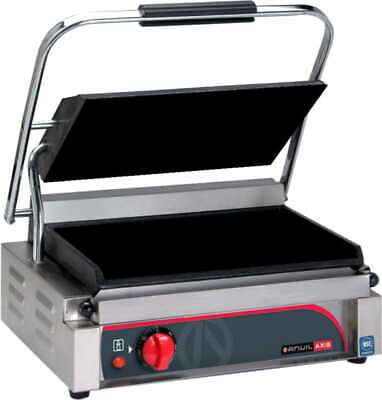 Anvil Panini Press Single Flat Top Flat Bottom Panini Presses & Sandwich Grills