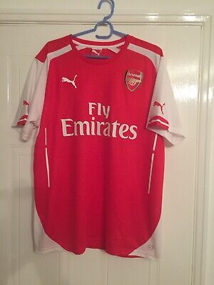 Arsenal Mens 2015/16 Home Shirt, Large